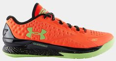 Under Armour Curry One Low Bolt Orange Black Avex Green TopDeals 1165394
