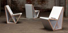 Cardboard Design Furniture and Fun: Vouwwow