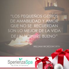 #LaFrase Regala amor... regala una #SperienzaSpa