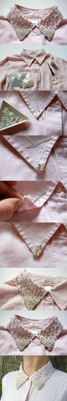great way to repurpose a blouse