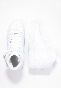 Nike Sportswear AIR FORCE 1 '07 MID - Sneaker high - white - Zalando.de