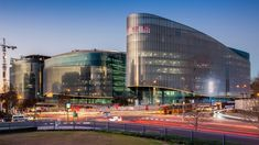 Discovery headquarters nears completion