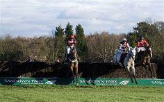 Racing at Sandown Park