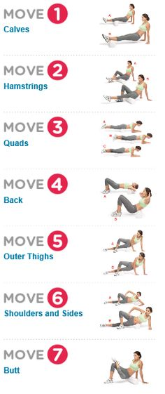 Soothe Muscle Soreness  Tend to aching muscles with this rejuvenating foam roller routine.  http://www.womenshealthmag.com/fitness/relieve-sore-muscles