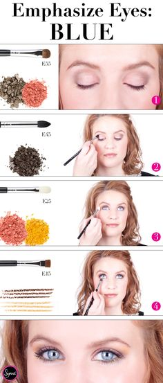 Are you a blue-eyed beauty? If so, check out our tutorial showing you how to make those pretty peepers take center stage! http://www.sigmabeautytalk.com/2012/12/19/emphasize-eyes-blue/ #sigmabeauty