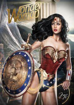 Wonder Woman-Princess Diana COMMISSION by ~MLauNeim | DC comics