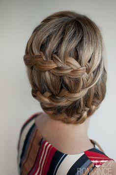 Braids in 30 Days - Day 29 Hair Romance - 30 braids 30 days - 29 - the S-Curve BraidHair Romance - 30 braids 30 days - 29 - the S-Curve Braid Braided Hairstyles Updo, Casual Hairstyles, Braided Updo, Pretty Hairstyles, Girl Hairstyles, Hairstyle Braid, Hair Updo, Wedding Hairstyles, Updo Casual