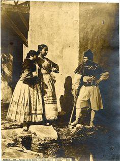 J. Laurent Y Cia., Espagne, Murcie, Paysans de la huerta (d'après nature)    #Europe #Espagne_Espana