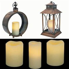 Flameless Lanterns