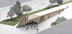 Beyond Pavilion - Model of study for ArtVerona installation by Reverse.