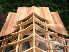 Garden Tea House Kits   Cabanas - Garden Sheds Sheds Gazebos Studios Artist Studios Kits ... #outdoorwood Garden Shed Diy, Home And Garden, Garden Cottage, Shed Homes, Kit Homes, Barn Homes, Style At Home, Roof Design, House Design
