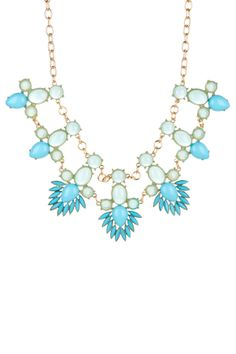 Cara Accessories Chain Statement Necklace