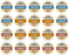 20-count Single Serve Cups for Keurig K-Cup Brewers Grove Square Cappuccino Variety Pack Featuring French Vanilla, Hazelnut, and Caramel Cups >> Review more details here : K Cups