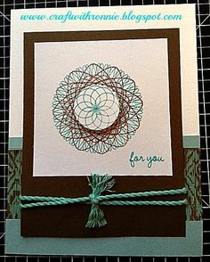 Jackson paper pack and Dizzy Circles stamp set