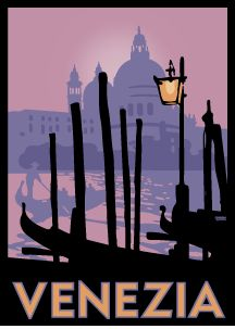 I just love the travel posters & calendars from Linnea Design.