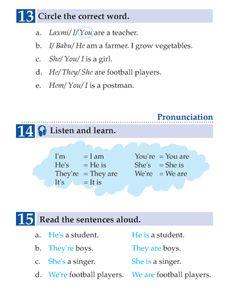 English Book Grade 1 People   English Language - Page 11