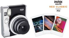 Fujifilm Instax mini 90 keeps instant film alive with retro look, new photo modes