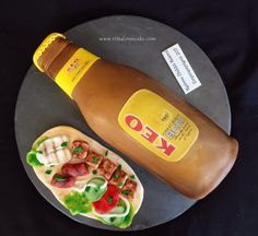 KEO beer cake Pint Of Beer, Beverages, Drinks, Food And Drink, Cakes, Drinking, Cake Makers, Kuchen, Drink