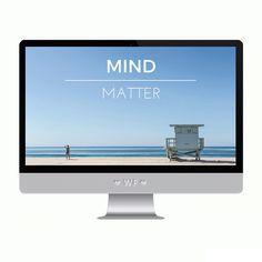TECH TUESDAY: Mind Over Matter Desktop Background - Wonder Forest