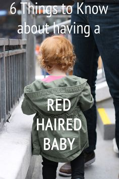 If you're lucky enough to get a red head, here are some things to know
