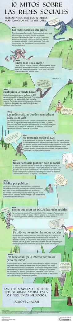 10 mitos sobre las Redes Sociales | Remarca Ideas
