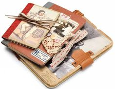 Create a special journal by dressing up a composition book.