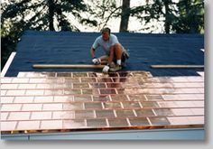 Our Copper Shingles exceed all possible expectations for beauty, durability and affordability in a premium roofing product.