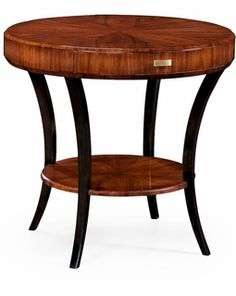 494000 Jonathan Charles Santos Rosewood Deco Side Table With Drawer (Satin)