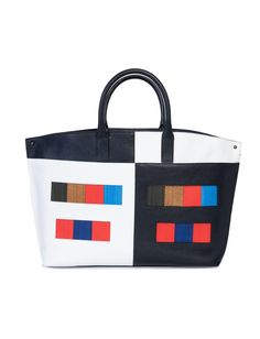 Ai Mittelgross In Colorama - Shopper, Tote, Umhängetasche Face Wrap, Fabric Patch, Horse Hair, Shopper, You Bag, Wrap Style, Calf Leather, Messenger Bag, Calves