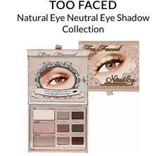 Great palette for a more natural tone!