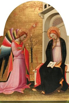 LORENZO MONACO The Annunciation.