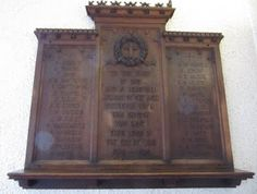 Barnsley War Memorials Project: Barnsley, St Paul's Church, Old Town, WW1 memorial...