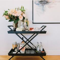 "Explore our web site for more details on ""bar cart styling"". It is actually an exceptional area to find out more. Diy Bar Cart, Bar Cart Styling, Gold Bar Cart, Bar Cart Decor, Bar Carts, Bandeja Bar, Outside Bars, Bar Accessories, Bar Furniture"
