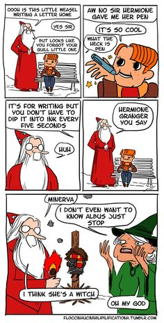 Dumbledore is still as irresponsible as always. | Even More Hilarious Harry Potter Comics That Prove Dumbledore Was Totally Irresponsible