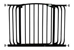 Dreambaby Chelsea Extra Wide Auto Close Security Gate in Black *** Quickly view this special dog product, click the image : Dog gates