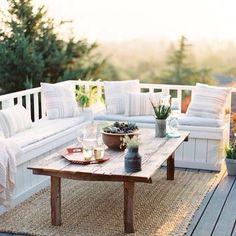 Patio design / outdoor furniture