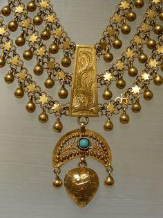 Beautiful Kurdish Necklace. A Museums piece, 1930s.