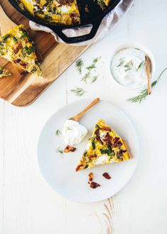 Frittata is a baked egg dish that takes less than 30 minutes, is easily customizable, and can work for any meal of day. Baked Frittata, Frittata Recipes, Asparagus Bacon, How To Cook Asparagus, Brunch Egg Dishes, Cook Smarts, Deli Ham, Easter Brunch, Goat Cheese
