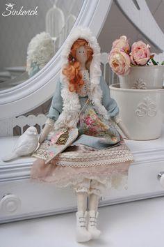 Tilda dolls handmade.  Fair Masters - handmade.  Buy Doll style Tilda Sophie.  Handmade.  faux fur