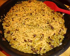 Green Chile Rice with Black Beans from our November VegCookbook, Forks Over Knives