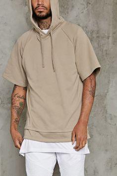 Short-Sleeve Raglan Hoodie