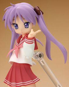 Buy Action Figure - Lucky Star Action Figure - Figma Kagami Hiiragi Winter School Uniform Non-Scale - Archonia.com