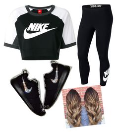 """""""Nike"""" by manijah200271 on Polyvore featuring NIKE"""