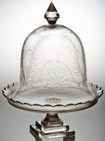 The Enchanted Home: Mid week musings.Just beautiful Cake Plate With Dome, Cake Stand With Dome, Cake Dome, Cupcake Stands, The Bell Jar, Bell Jars, Cloche Decor, Cake Carrier, Dessert Aux Fruits