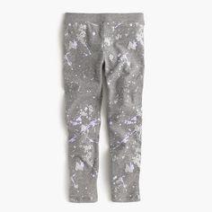 J.Crew - Girls' everyday leggings in splatter print