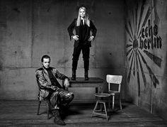 Author photo - Olaf Heine Till and Anna Loos