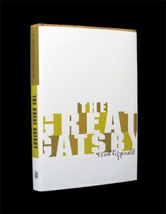 Book Cover - Typography by Ginger Levy, a nice use of negative space and a good choice of colors for accent.
