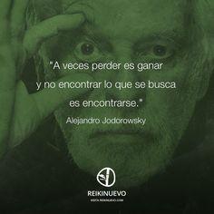 Alejandro Jodorowsky: Perder es ganar http://reikinuevo.com/alejandro-jodorowsky-perder-ganar/