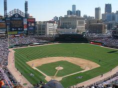 Comerica Park, Tiger opening day2 2007.jpg