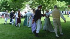 Village Dancers on the Town Square at the Genesee Country Village & Museum Ruby Foote photo